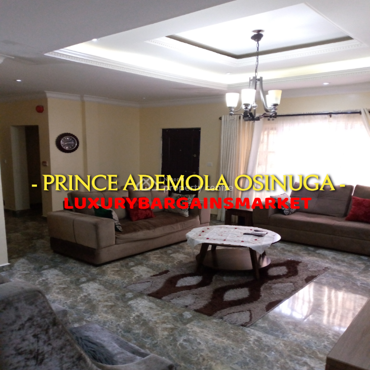 Very Cheap Furnished Ground Floor Apartment 3 Bedroom Apartment + Bq, Parkview Estate, Parkview, Ikoyi, Lagos, Flat / Apartment for Rent
