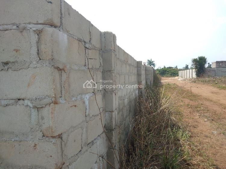 About Two Plots of Land Fenced with Gate for Hostel, Near Bishop Court Imsu Area, Owerri Municipal, Imo, Mixed-use Land for Sale