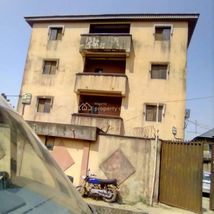 Solid Block of 8 Flats of 3 Bedroom. Each in a Secured Environment, Off Ago Palace Way, Ago Palace, Isolo, Lagos, Block of Flats for Sale