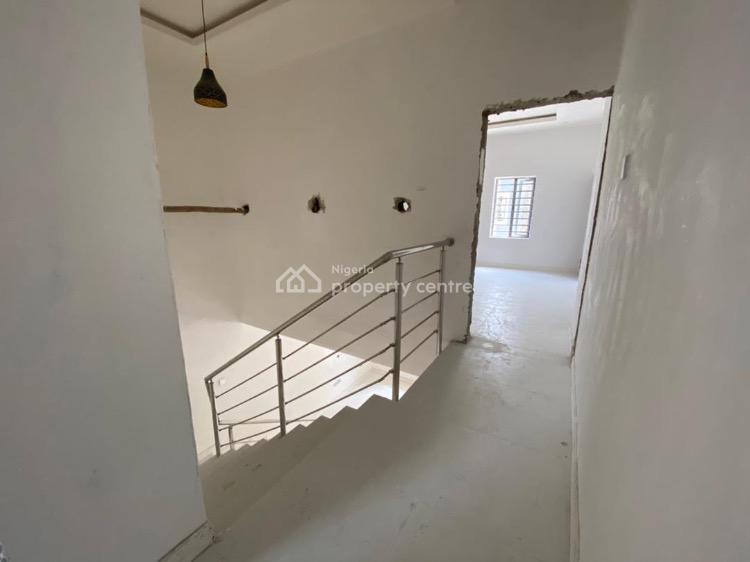 Newly Built and Furnished 4 Bedroom Terraced Duplex, Vintage Estate, Sangotedo, Ajah, Lagos, Terraced Duplex for Sale