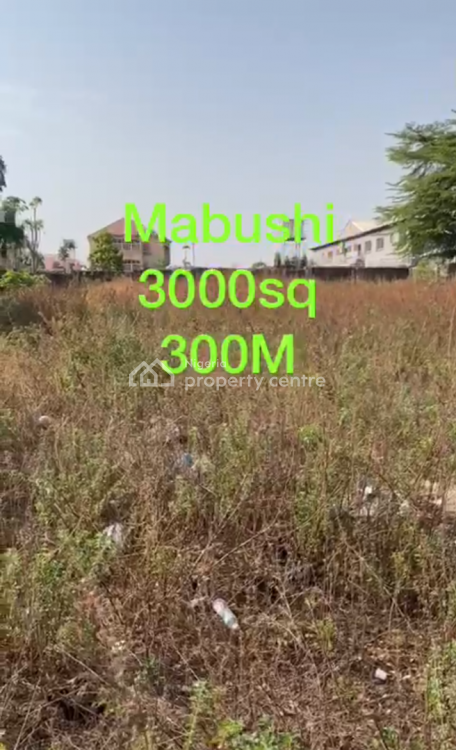 2 Serial Plots of 1500sqm Each Totalling 3000sqm, C of O, Mabushi, Abuja, Residential Land for Sale