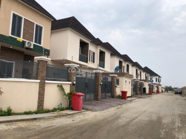 4 Bedroom Semi Detached Duplex, After 2nd Toll Gate, Lekki, Lagos, Semi-detached Duplex for Sale