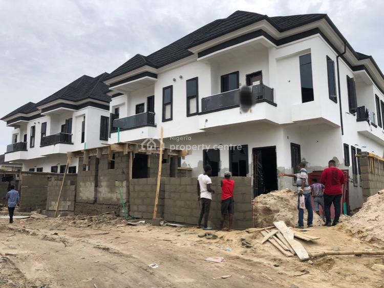 Spacious 4 Bedroom Semi Detached Duplex, After 2nd Toll Gate, Lekki, Lagos, Semi-detached Duplex for Sale