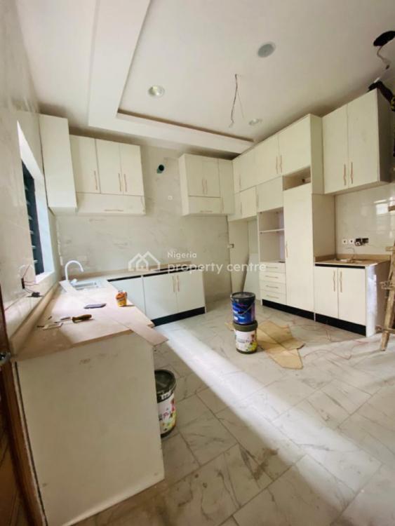 4 Bedroom Semi Detached Duplex with a Room Bq in a Long Drive Way, Idado, Lekki, Lagos, Semi-detached Duplex for Sale