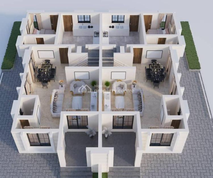 3 Bedroom Semi-detached Duplex at Decastle, Oribanwa Bustop,  2min From Mayfair Gardens, Awoyaya, Ibeju Lekki, Lagos, Semi-detached Duplex for Sale