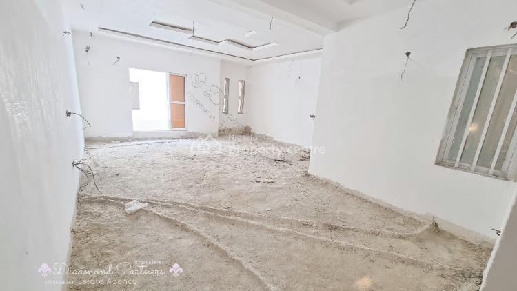2 Bedroom Carcass Serviced, Lekki Phase 1, Lekki, Lagos, Flat / Apartment for Sale