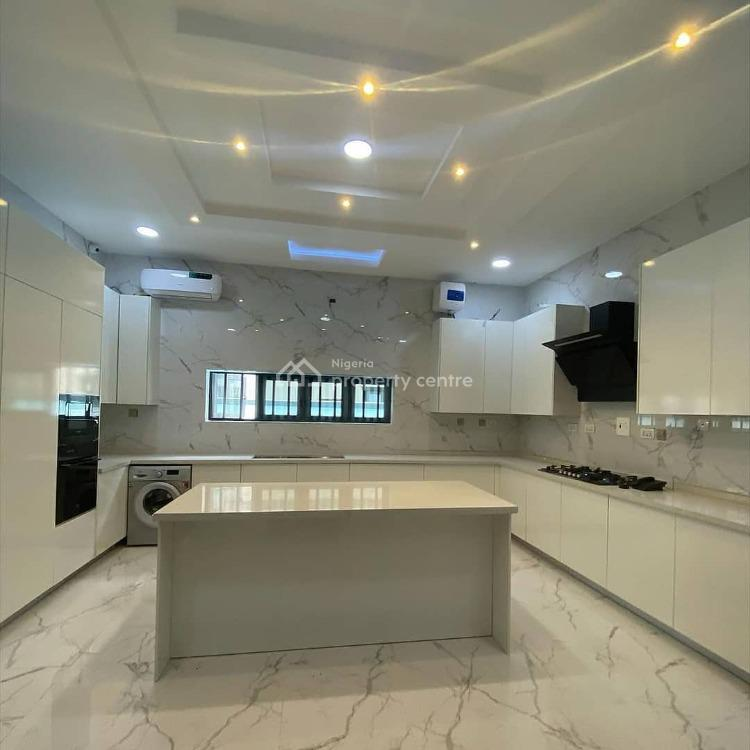 Contemporary 5 Bedroom Fully Detached Duplex with Pool, Cinema and 1 Bq, Osapa, Lekki, Lagos, Detached Duplex for Sale