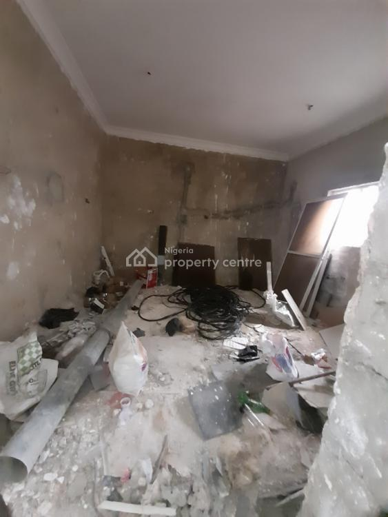 4 Bedroom Carcass Duplex with a Bq, Ajah, Lagos, Terraced Duplex for Sale