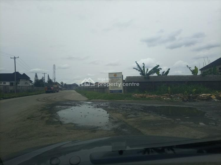 Well Located and Table Dry Land on The Major Road, Off Peter Odili Road / Transamadi, Port Harcourt, Rivers, Commercial Land for Sale