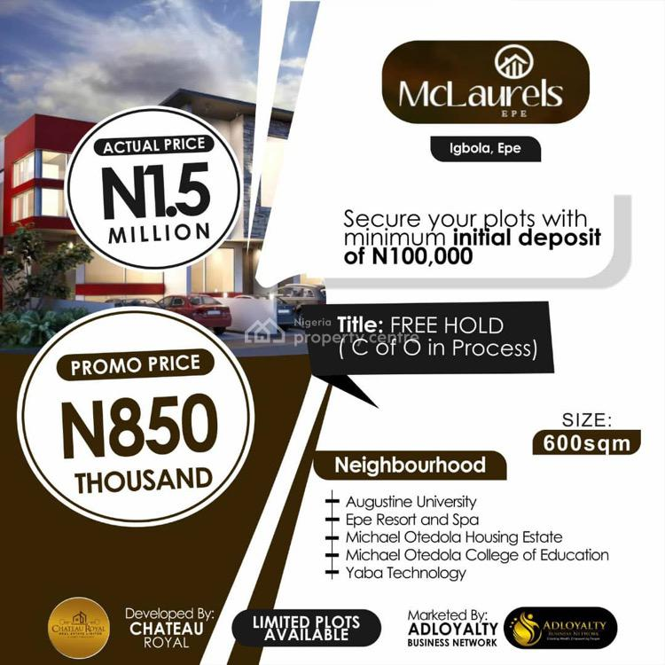 Mc Laurels, Epe, Lagos, Land for Sale