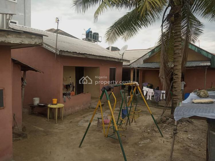 Massive 4 Bedroom Bungalow with 4 Rooms Self Contained Apartments, St. Michael, By Iwofe Road, Off Ade George Bus-stop, Port Harcourt, Rivers, Block of Flats for Sale