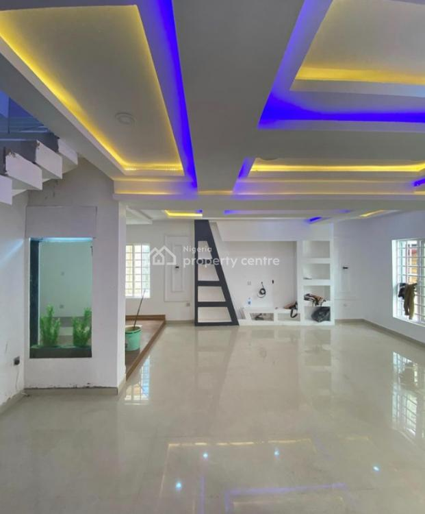 Spacious 5 Bedroom Detached Duplex with B.q, By Lekki 2nd Toll Gate, Lekki, Lagos, Detached Duplex for Sale