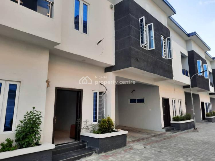 4 Bedrooms Terraced Duplex in a Mini Estate + Governors Consent., Ogombo Road, Ajah, Lagos, Terraced Duplex for Sale