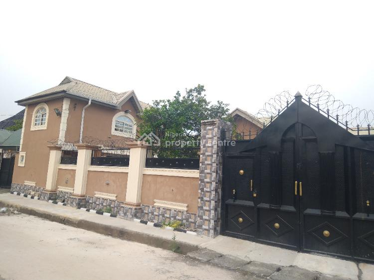 Royal 4 Bedroom Bung All Ensuite, 1 Story Gym Hse Up with 2 Rms & 2 Room Bq, Imo Housing Umuguma Road, Owerri Municipal, Imo, Detached Bungalow for Sale