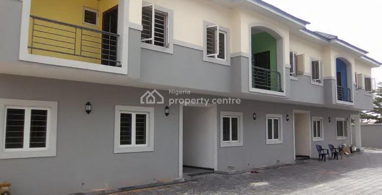 Brand New 4 Bedroom Duolex, Atlantic View Estate/ Chevron Axis, Ibeju Lekki, Lagos, Terraced Duplex for Sale