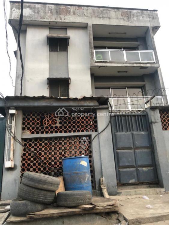 a House of Block of Flats + Penthouse & Underground Basement, Iwaya, Yaba, Lagos, Block of Flats for Sale