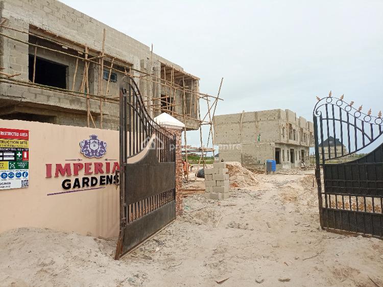 4 Bedroom Terrace, Gra, Abijo, Lekki, Lagos, Terraced Duplex for Sale