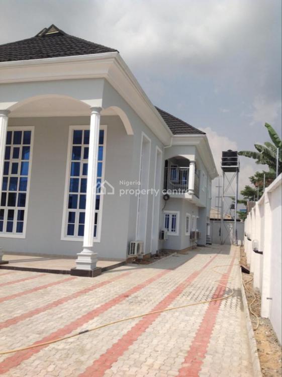 Luxury Tastefully Finished Detached 6 Bedroom Duplex with Modern Facil, Woji, Port Harcourt, Rivers, Detached Duplex for Rent