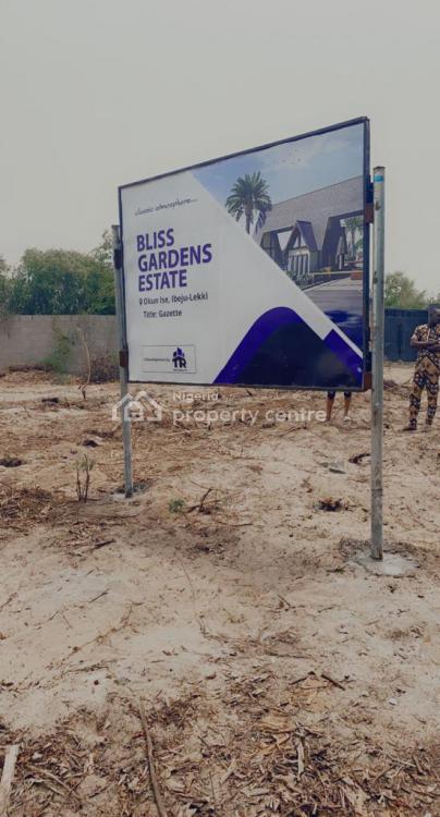 Luxury Land with Gazette, Bliss Gardens Estate, Ibeju Lekki, Lagos, Mixed-use Land for Sale