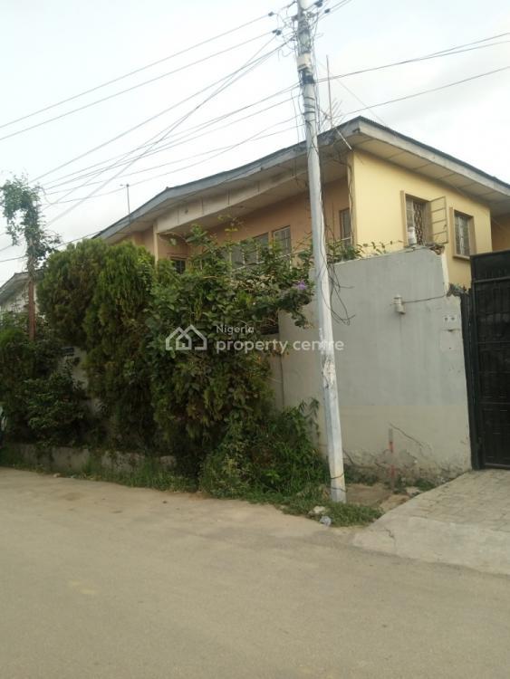 Nice 4 Bedroom Semi Detached Duplex, Adelabu, Surulere, Lagos, Semi-detached Duplex for Rent