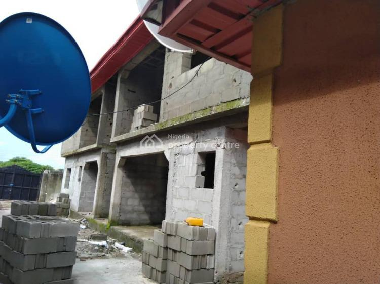 4 Block of 2 Bedrooms with Completed Bungalow Behind, Imowo Nla Area, Off Ijede Road, Ikorodu, Lagos, Block of Flats for Sale