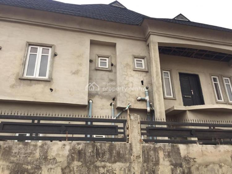 Newly Roofed 4 Nos of 2 Bedroom Flat Each at 90% Completion, Valley View Estate, Ebute, Ikorodu, Lagos, Block of Flats for Sale