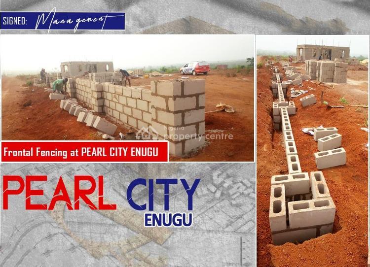 Land, Pearl City Estate, Ogbeke Nike, Enugu East Local Government Area, Nsukka, Enugu, Land for Sale