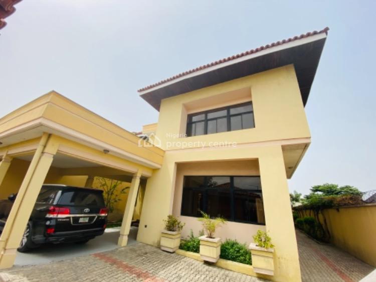 Lovely 5 Bedroom  Fully Detached Duplex with 2 Bq/roof Top, Lekki Phase 1, Lekki, Lagos, Detached Duplex for Rent