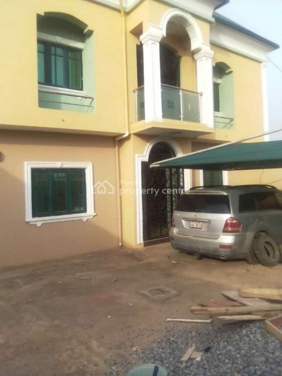 a Four Bedrooms Duplex ,all Rooms Ensuit with Pop Self Compound, Ahmadiyya, Abule Egba, Ijaiye, Lagos, Detached Duplex for Rent