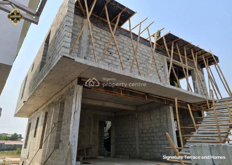Luxury 3 Bedroom Semi Detached with Bq in a Serene Neighborhood., Eko Akete, Abijo, Lekki, Lagos, Semi-detached Duplex for Sale