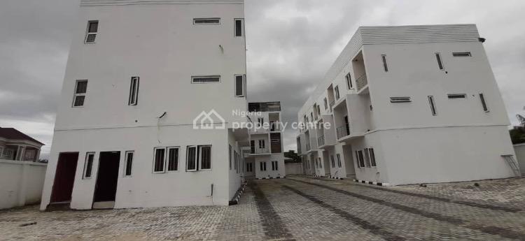 Brand New 4 Bedroom Terrace, Access Through Blenco Supermarket, Sangotedo, Ajah, Lagos, Terraced Duplex for Sale