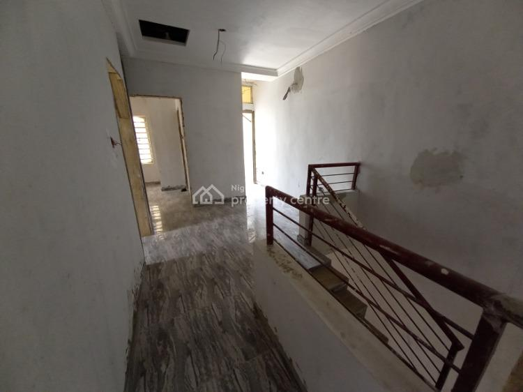 Newly Built Three (3) Bedrooms Terraced House with Bq, Sangotedo, Ajah, Lagos, Terraced Duplex for Sale