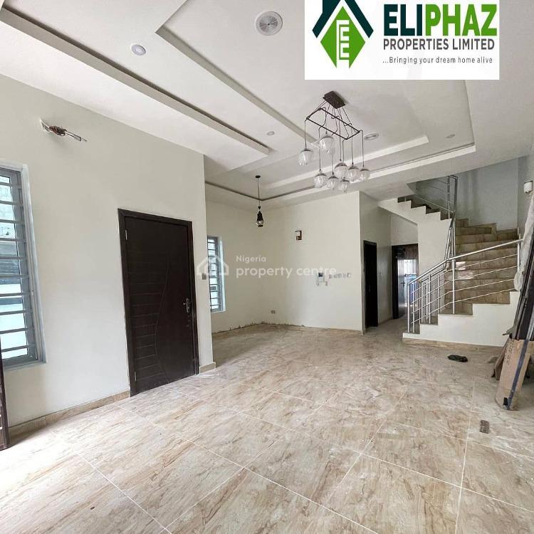 Exquisite 4 Semi Detached Duplex, Chervon, Lekki, Lagos, Detached Duplex for Sale
