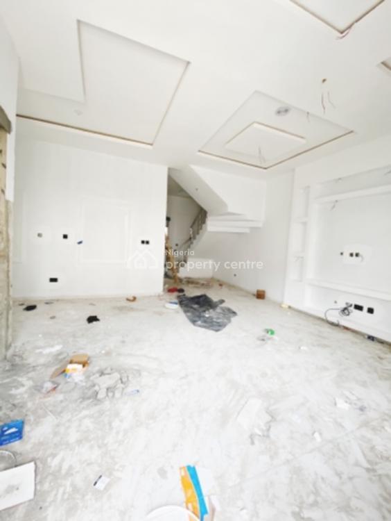 Exclusive 4 Bedrooms Semi Detached Duplex, By Chevron Toll, Lekki, Lagos, Semi-detached Duplex for Sale