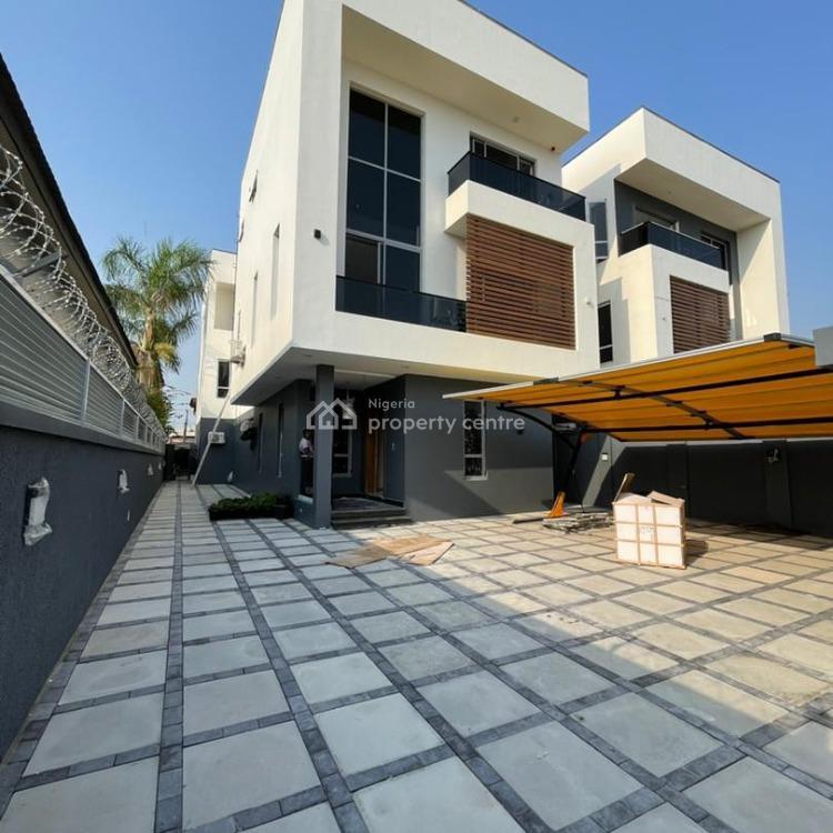 5 Bedrooms Automated Fully Detached Duplex, Lekki Phase 1, Lekki, Lagos, Detached Duplex for Sale