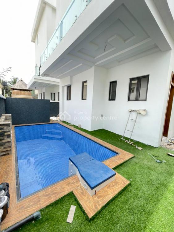 Excellently Finished Smart 5 Bedrooms Duplex with Cinema and Pool, Lekki Phase 1, Lekki, Lagos, Detached Duplex for Sale