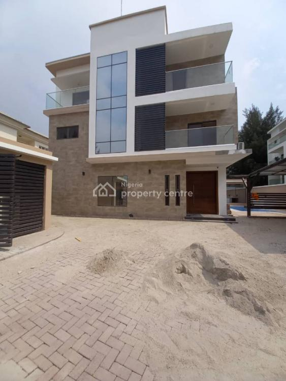 Brand New Five Bedrooms Fully Detached House, All Room Ensuite with 2 Rooms Bq, Golden Estate, Banana Island, Ikoyi, Lagos, Detached Duplex for Sale