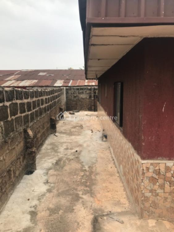 2 Units of 3 Bedrooms Flats in a Bungalow, Uselu Shell, Benin City, Uselu, Egor, Edo, Detached Bungalow for Sale