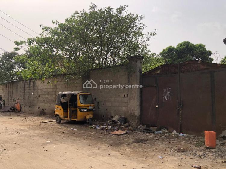 2050 Square Meters Fenced & Gated Land, Edmund Crescent, Off Herbert Macaulay Way, Yaba, Lagos, Land for Sale