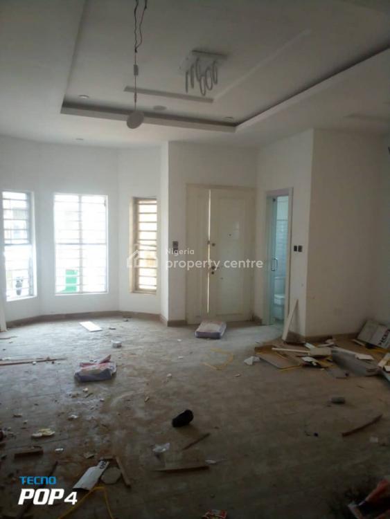 Newly Built 4 Bedrooms Semi Detached Duplex with Bq, Chevron, Lekki Phase 2, Lekki, Lagos, Semi-detached Duplex for Rent