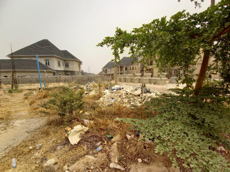 Well Located Dry Detached Duplex Plot with Foundation (700sqm), Beside Brains and Hammers Estate, Galadimawa, Abuja, Residential Land for Sale