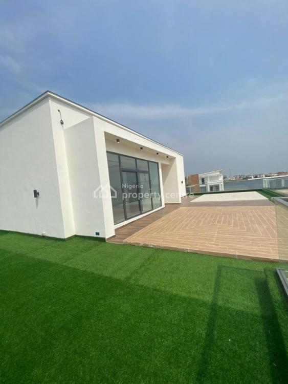 Luxury Waterfront 6 Bedrooms Fully Detached House with 2 Rooms Bq, Shoreline Estate, Off Banana Island Road, Ikoyi, Lagos, Detached Duplex for Sale
