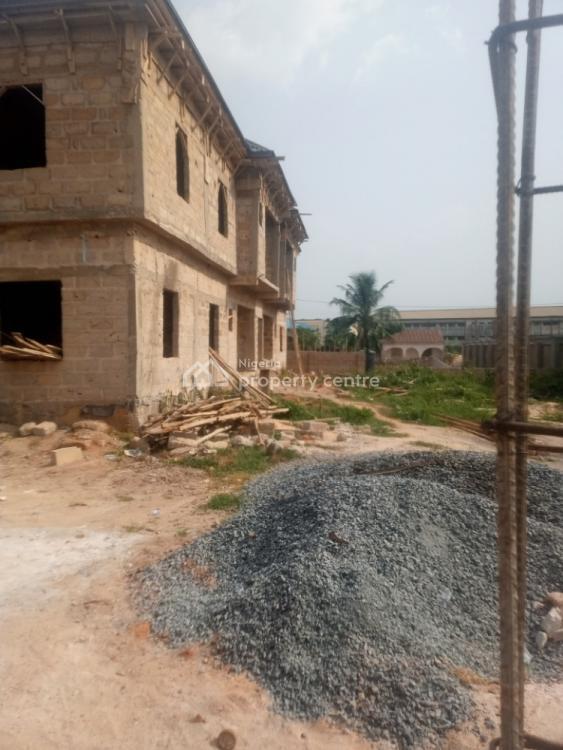 Uncompleted 4 Flats of 3 Bedrooms, Ebo Community, Benin, Oredo, Edo, Block of Flats for Sale