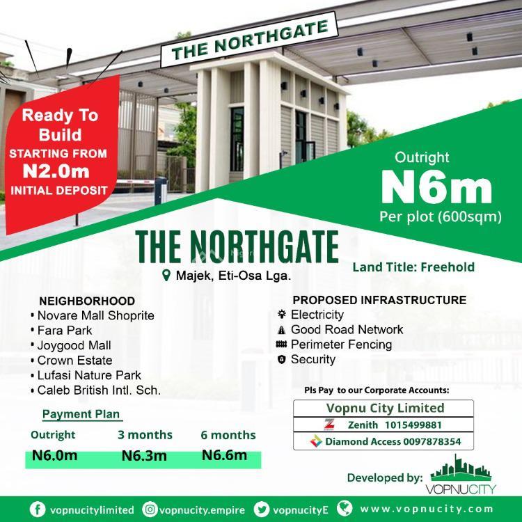 Residential Land, Opposite Fara Park Estate, By Majek Bus-stop, Off Lekki Epe Expressway, Ajah, Lagos, Residential Land for Sale