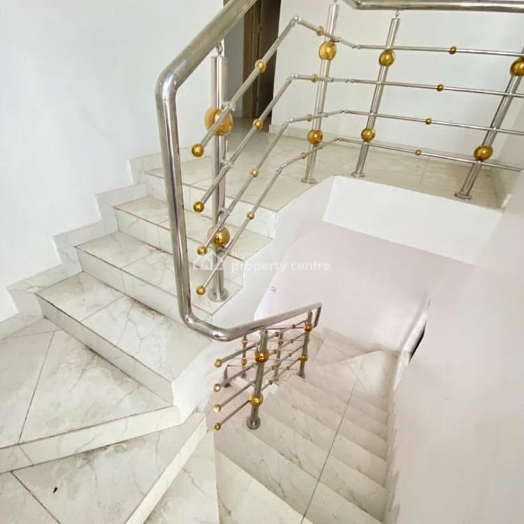 Luxury 4 Bedroom with Bq, Chevron Tollgate, Lekki Phase 1, Lekki, Lagos, Detached Duplex for Sale