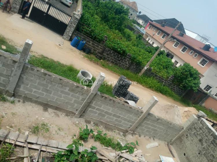 Carcass 5 Bedrooms Detached Duplex, By Blenco Supermarket, Sangotedo, Ajah, Lagos, Detached Duplex for Sale