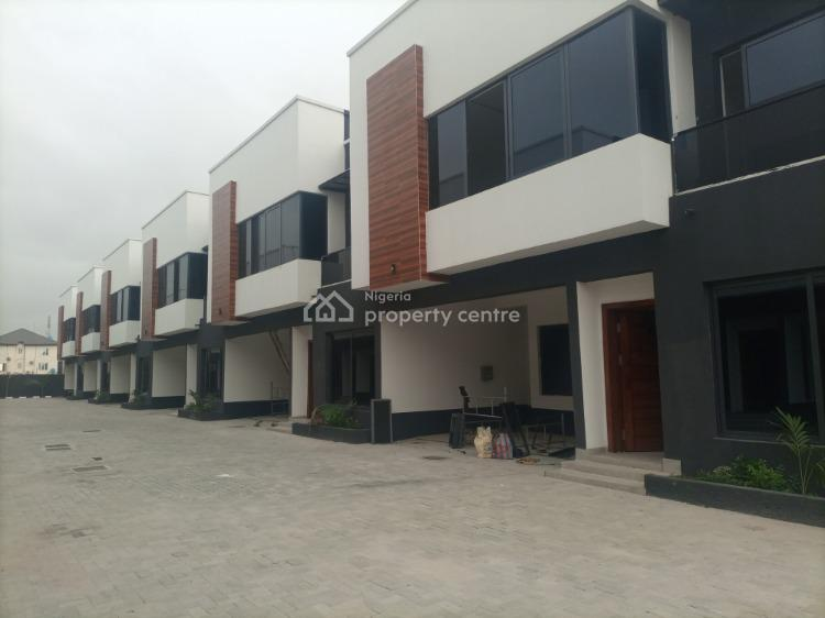 Newly Built 4 Bedroom Terrace with Architectural Design Masterpiece, Osapa London, Lekki, Lagos, Terraced Duplex for Sale