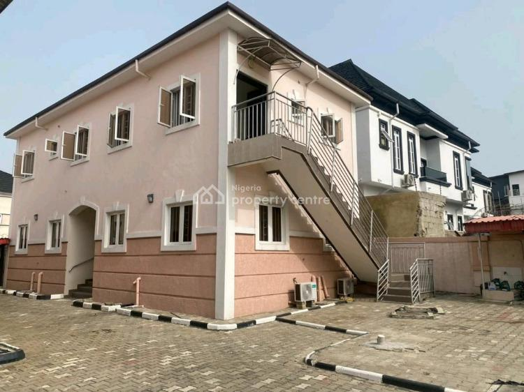 Brand New 4 Bedroom Tarrace Duplex with Bq  and 24 Hours Light, Orchid Road, Lekki, Lagos, Terraced Duplex for Rent