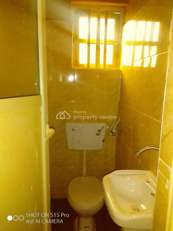 Newly Built Standard Roomself  Service Apartment, Off St Finbass Road Akoka Busstop Yaba Lagos Very Accessible to Island, Yaba, Lagos, Self Contained (single Rooms) for Rent