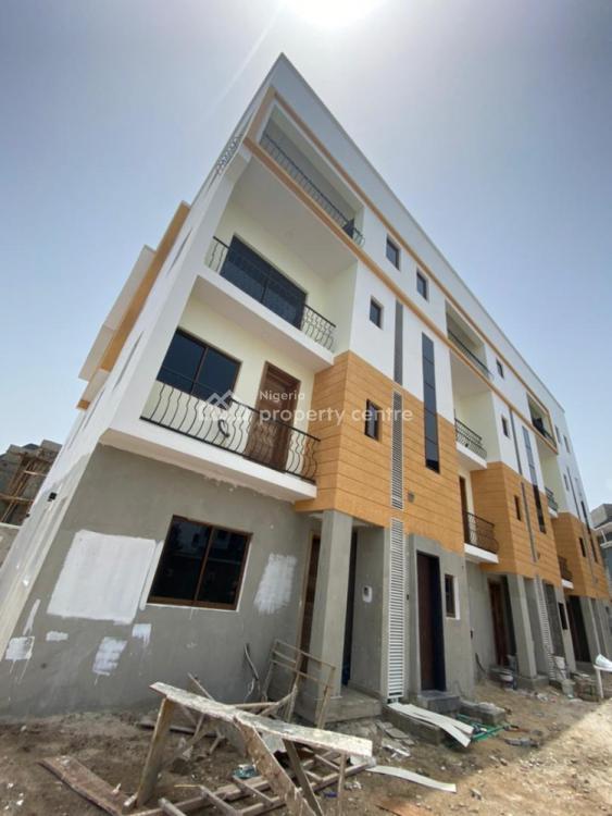 4 Bedrooms Maisonette with Bq, 2nd Tollgate, Lekki, Lagos, Terraced Duplex for Sale